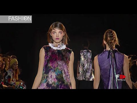 TALBOT RUNHOF Fall 2018/2019 Paris - Fashion Channel