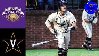 North Alabama vs #2 Vandęrbilt Highlights (Great Game!) | 2021 College Baseball Highlights