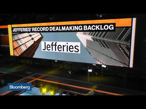 Jefferies Says Investment-Banking Backlog Hits Record Level