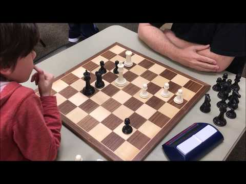 7 Year Old's Endgame Technique Is Scary! Golan vs. Richard