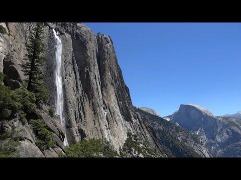 Yosemite Falls, Yosemite National Park, USA in 4K (Ultra HD)