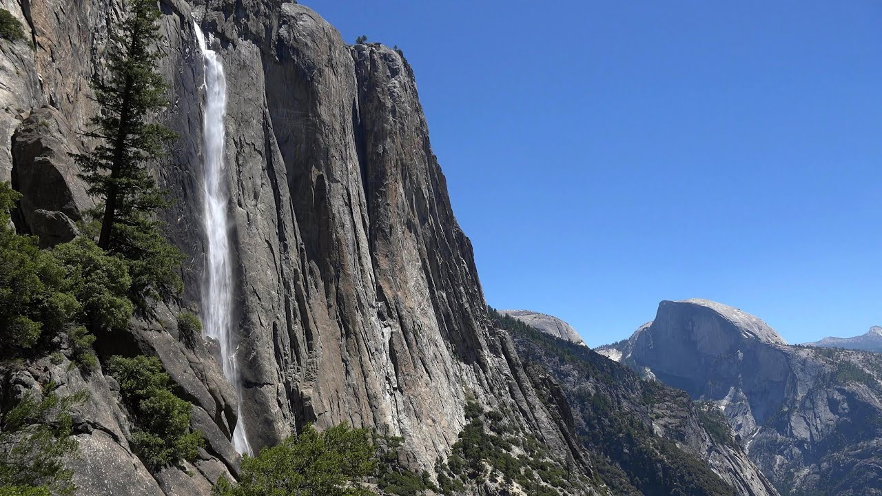Fall Watch Wallpapers Yosemite Falls Yosemite National Park Usa In 4k Ultra