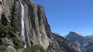 Yosemite Falls, Yosemite National Park, USA in 4K (Ultra HD)