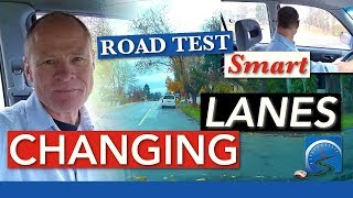 Video How to Change Lanes While Driving | Road Test Smart download MP3, 3GP, MP4, WEBM, AVI, FLV Oktober 2017