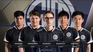 TSM vs SSG  - Worlds 2016 Group D - Team SoloMid vs Samsung Galaxy