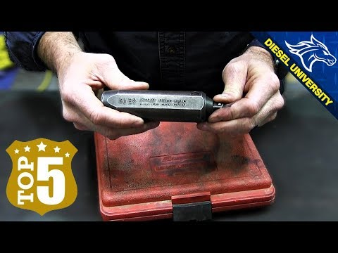 Top 5 Must Have Diesel Mechanic Tools | Every Toolbox Should Have These (TODAY) 🔧