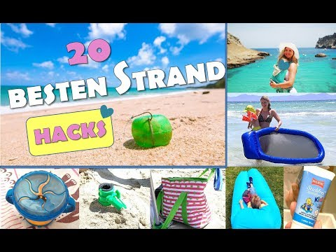 TOP 20 STRAND HACKS | Urlaub Tipps | Urlaub Hacks | Beach Hacks | Best MOM Hacks