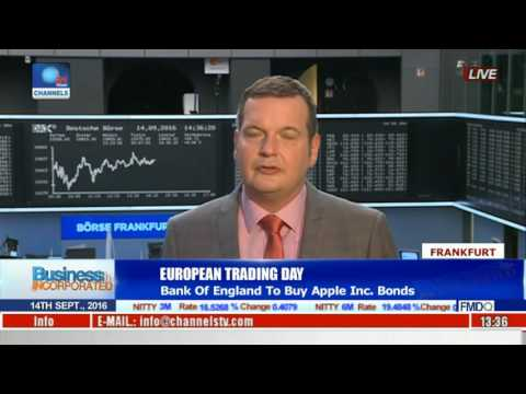 Business Incorporated: Bank Of England To Buy Apple Inc Bonds