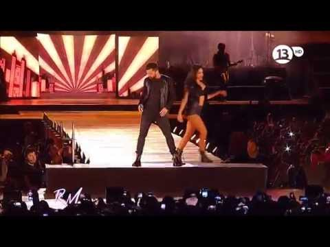 Ricky Martin 1-Come With Me 2-Shake Your Bon Bon  3- Adrenal