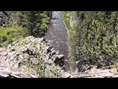 Fly-Fishing On Remote Rio Grande River Tributary In SW Colorado