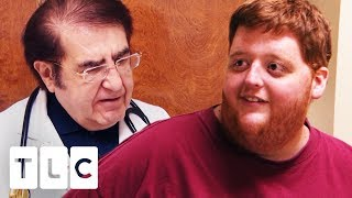 Justin's Weight Loss Astounds Dr Now! | My 600lb Life