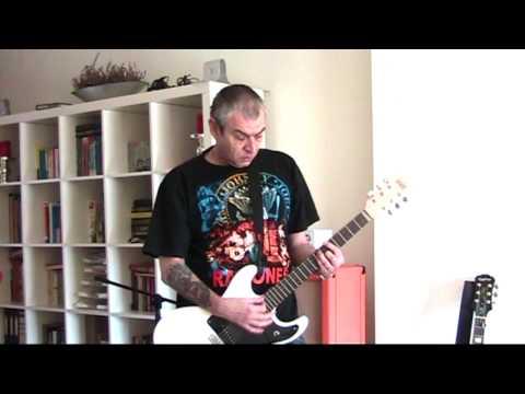Ramones   Cretin Hop (HQ audio guitar cover)