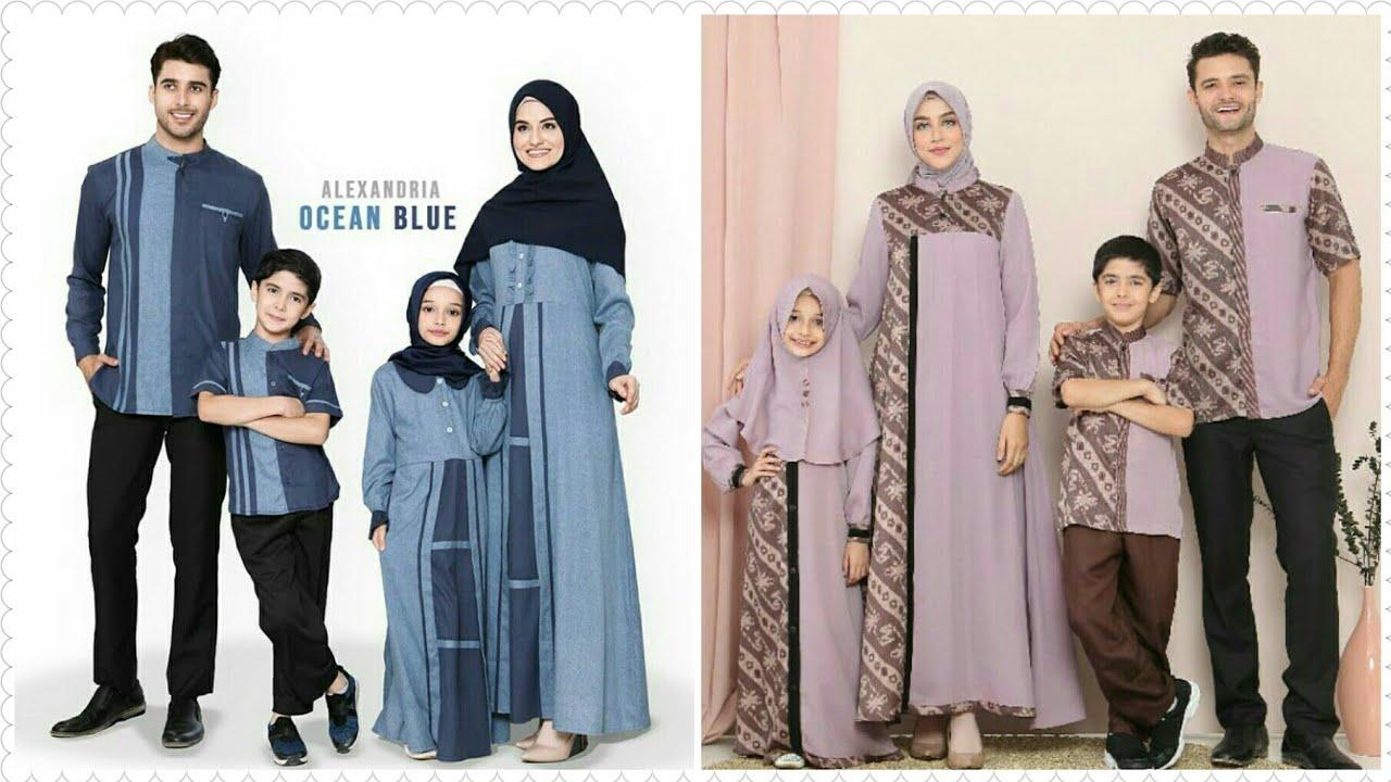 Trend Model Baju Couple Muslim Keluarga Untuk Lebaran Terbaru Tahun 10