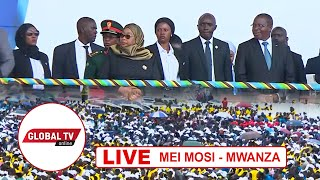 🔴#LIVE: RAIS SAMIA ASHIRIKI KATIKA SHEREHE ZA MEI MOSI, JIJINI MWANZA...