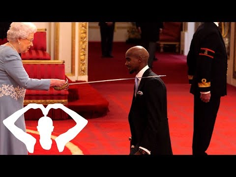 What The Queen Said To Me At My Investiture Ceremony at Buckingham Palace | Mo Farah