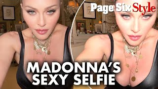 Madonna, 62, strips down to her underwear to tease 're-invention' | Page Six Celebrity News