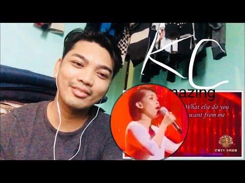 [ REACTION ] KZ TANDINGAN SINGS A MANDARIN SONG - The hurts you never knew