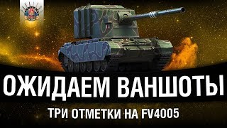 ТРИ ОТМЕТКИ НА FV4005 #2