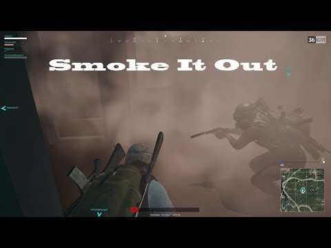 Smoke It Out in PUBG