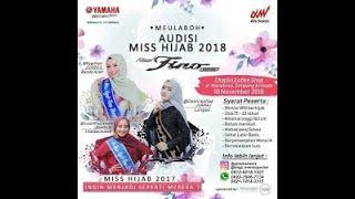 audisi miss hijab fino | 2018 | penampilan