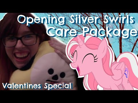 Opening Silver Swirls Valentines Day Care Package (Unboxing)