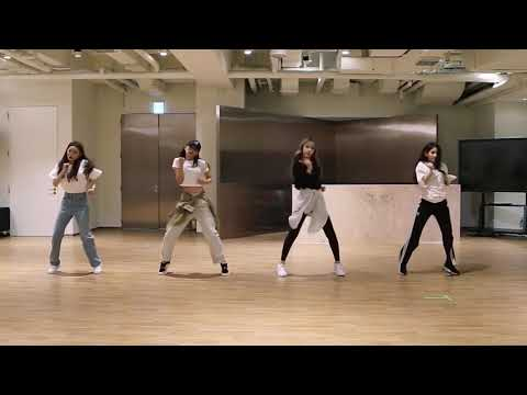 [mirrored] SEULGI X SINB X CHUNGHA X SOYEON - WOW THING Dance Practice