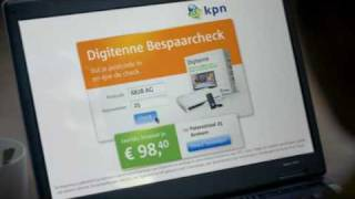 KPN DIGITENNE COMMERCIAL OVERAL IN HUIS TAG ON