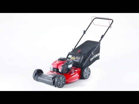 CRAFTSMAN M210 140-cc 21-in Self-propelled Gas Lawn Mower with Briggs & Stratton Engine