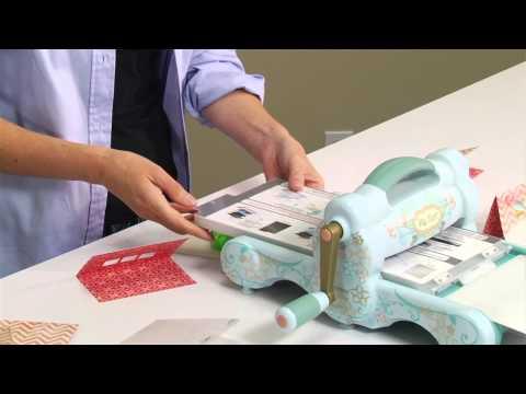 Sizzix Big Shot Machine Beach Bum Card Making