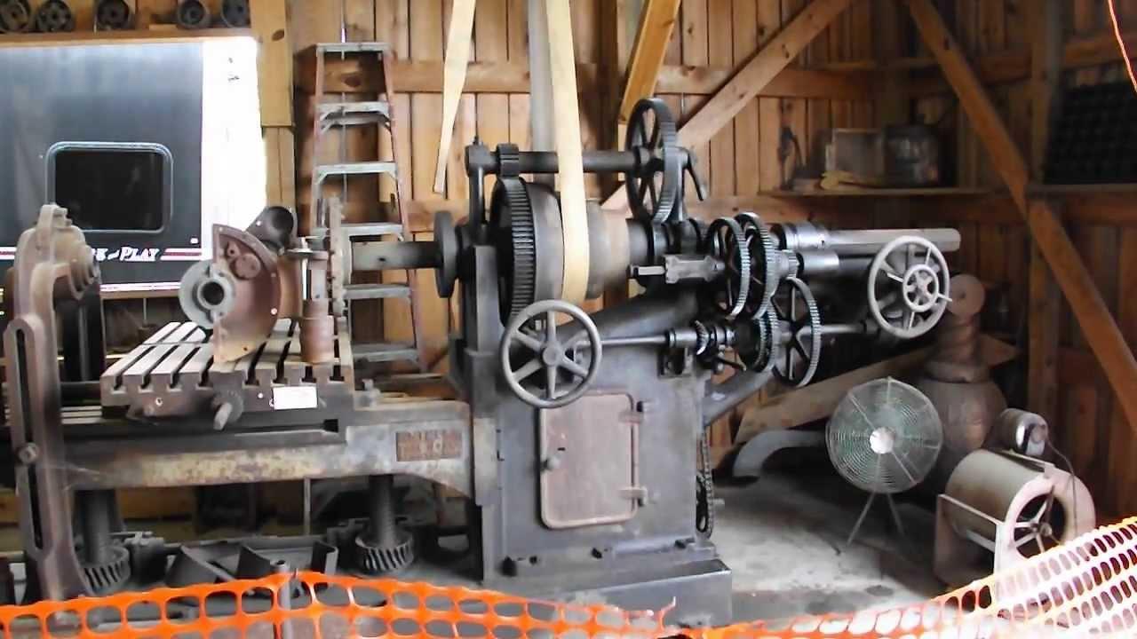 milling machine shop