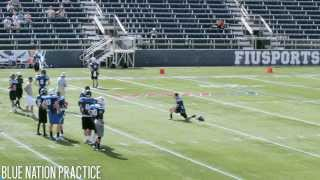 National Bowl Blue Nation Practice Video NFL Films 2013 at FIU