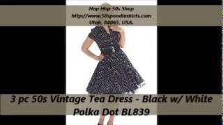 Hip Hop 50's Shop Vintage Dress & Saddle Shoes