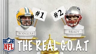 Why Aaron Rodgers is the Real G.O.A.T Over Tom Brady 🐐  | NFL Rush
