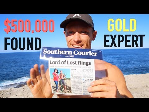 Found $500,000 Cash Gold Underwater Metal Detecting Lost Tre