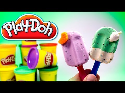 Play Doh Ice cream cupcakes playset playdough by Unboxingsurpriseegg