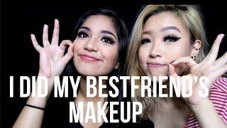 i did my bestfriend s makeup   marcella febrianne