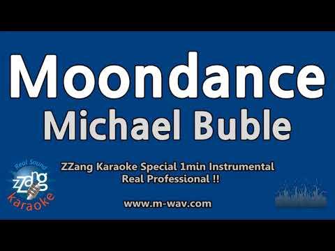 Michael Buble-Moondance (1 Minute Instrumental) [ZZang KARAOKE]