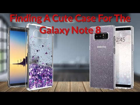Finding A Cute Case For The Galaxy Note 8 - YouTube Tech Guy