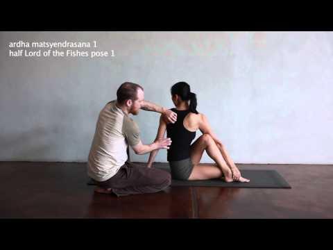 ardha matsyendrasana 1 - Yoga Resource Practice Manual eBook video library