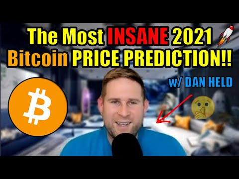 The Most INSANE 2021 Bitcoin Price Prediction!! Dan Held Explains Why Crypto is about to EXPLODE! ?