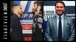 FV360 BOXING HOUR! LINARES VS LOMA WEIGH IN LIVE RESULTS! EDDIE HEARN