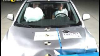Euro NCAP | Mitsubishi Lancer | 2009 | Crash test