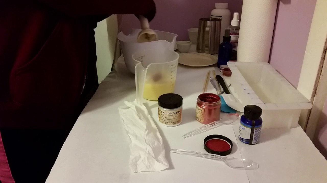 Part 1 Of 2 Valentine S Day Soap Making And Cutting Youtube