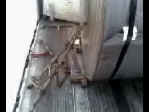 36 000 Lb Coil Brakes Loose During Transit Youtube