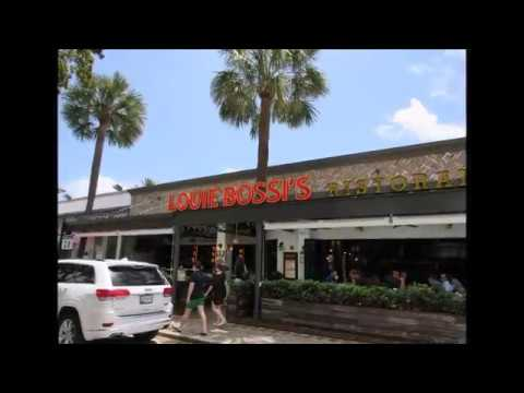 Louie Bossi´s Restaurant Video Tour - Fort Lauderdale #TravelTips