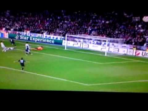 Miralem PJANIC!!! TOR!!!   Real Madrid 1:1 Lyon