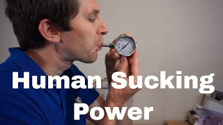 Can a Human Replace a Vacuum Pump in a Vacuum Chamber? How Low of a Pressure Can a Human Make?