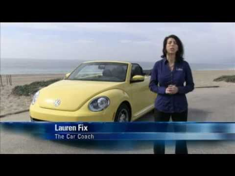 2013 VW Beetle Convertible: Expert Car Review by Lauren Fix