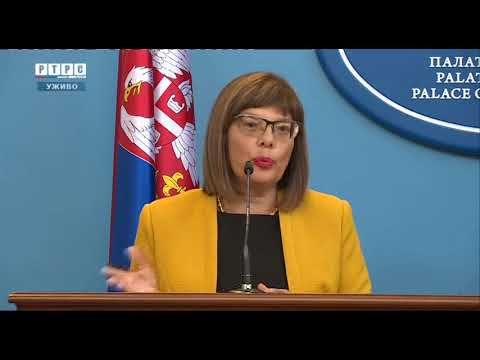 Pres konferencija: Dodik-Gojković