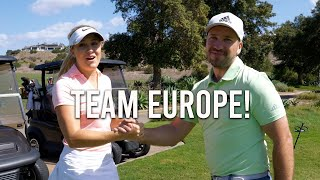 BACK 9 HOLES WITH PETER FINCH AND PARIS GRIFFITH/GOLF VLOG 2/2